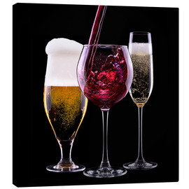 Canvas print  Beverages - Beer, Wine and Champagne