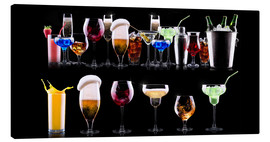 Canvas print  Barkeeper's Shelf