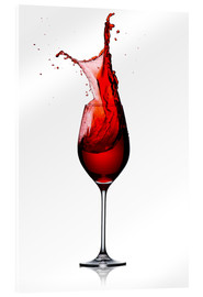 Acrylic glass  Red Wine Glass