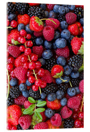 Acrylic print  Colorful berries