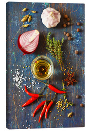 Canvas print  Spices and Herbs