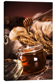 Canvas print  Forest Honey in jar