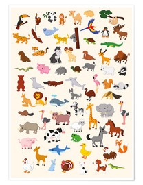 Premium poster Animal World