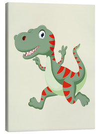 Canvas print  Laughing Dino - Kidz Collection
