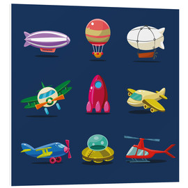 Foam board print  From the skies - Kidz Collection