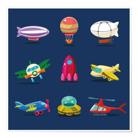 Premium poster  From the skies - Kidz Collection