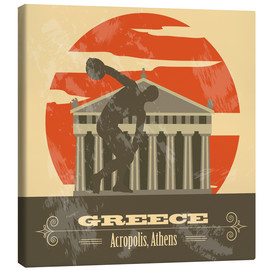 Canvas print  Greece - Acropolis