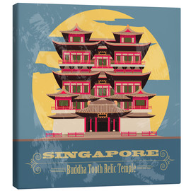 Canvas  Singapore - Buddha Tooth Relic Temple