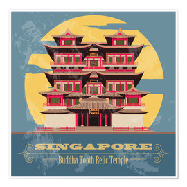 Singapore - Buddha Tooth Relic Temple