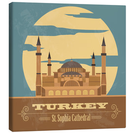 Canvas print  Turkey - Hagia Sophia