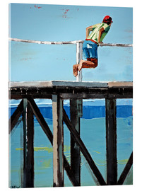Acrylic glass  On The Jetty - Claire McCall