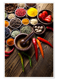 Poster  Healthy Spice Kitchen