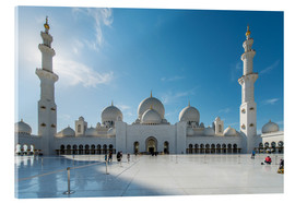 Acrylic glass  Dubai - Sheikh Zayed mosque