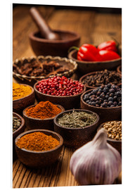 Forex  colorful spices in bowls
