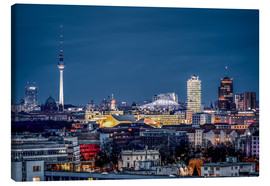 Canvas print  Potsdamer Platz Berlin at Night - Sören Bartosch