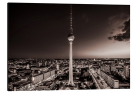Aluminium print  Berlin TV Tower - Sören Bartosch