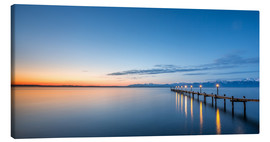 Canvas print  Chiemsee at sunrise / landscape - Sebastian Jakob