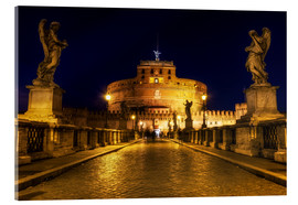 Acrylic glass  Ponte Sant'Angelo in Rome