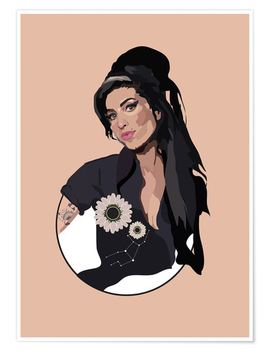 Premium poster Amy Winehouse