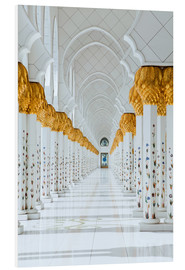 Forex  Detail of Sheikh Zayed Mosque