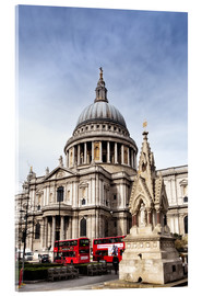 Acrylic print  Cathedral in London