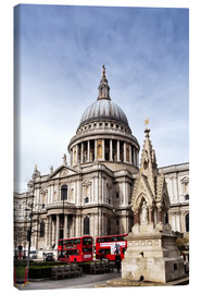 Canvas print  Cathedral in London