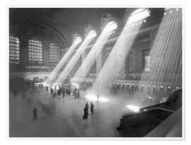 Premium poster Grand Central Railroad Station
