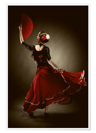 Premium poster  Flamenco dancer