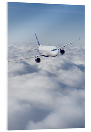 Acrylic print  Airliner in flight