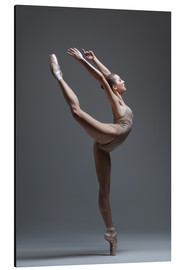 young beautiful dancer