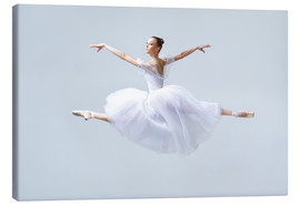 Canvas print  White pose