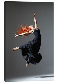 Canvas  Dancer with red hair