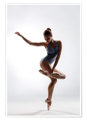 Beautiful Ballet Dancer Posters And Prints Posterlounge