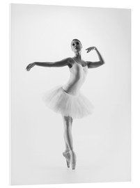 Foam board print  Ballet dancer
