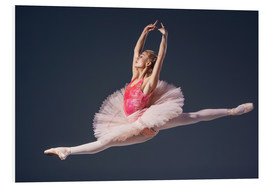 Foam board print  Pink Tutu and Pointe Shoes
