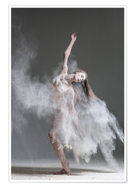 Premium poster  Flour dancer in pose