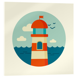 Kidz Collection - Lighthouse in a circle
