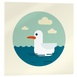 Acrylic print  Gull - Kidz Collection