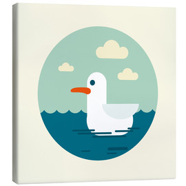 Canvas print  Gull - Kidz Collection