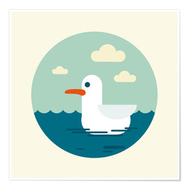 Premium poster  Gull - Kidz Collection