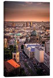 Canvas print  Berlin Evening Mood - Sören Bartosch