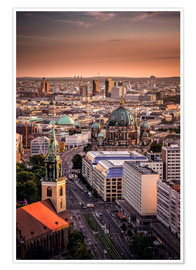 Premium poster Berlin Evening Mood
