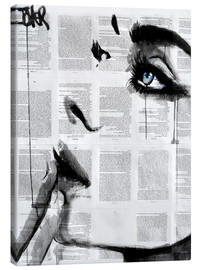 Canvas print  Never know - Loui Jover