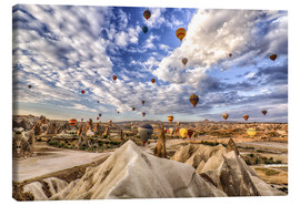 Canvas  Balloon spectacle Cappadocia - Turkey - Achim Thomae