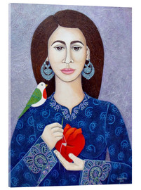 Acrylic print  The mender of broken heart - Madalena Lobao-Tello