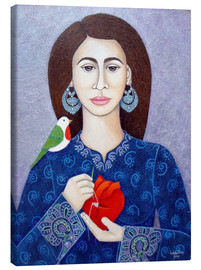 Canvas print  The mender of broken heart - Madalena Lobao-Tello