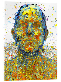 Acrylic glass  lost face - Maruto