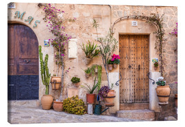 Canvas print  Old Town in Valldemossa (Mallorca, Spain) - Christian Müringer