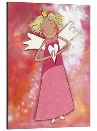 Alu-Dibond  Blonder guardian angel for girls - Atelier BuntePunkt