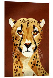 Acrylic glass  Cheetah - Dieter Braun